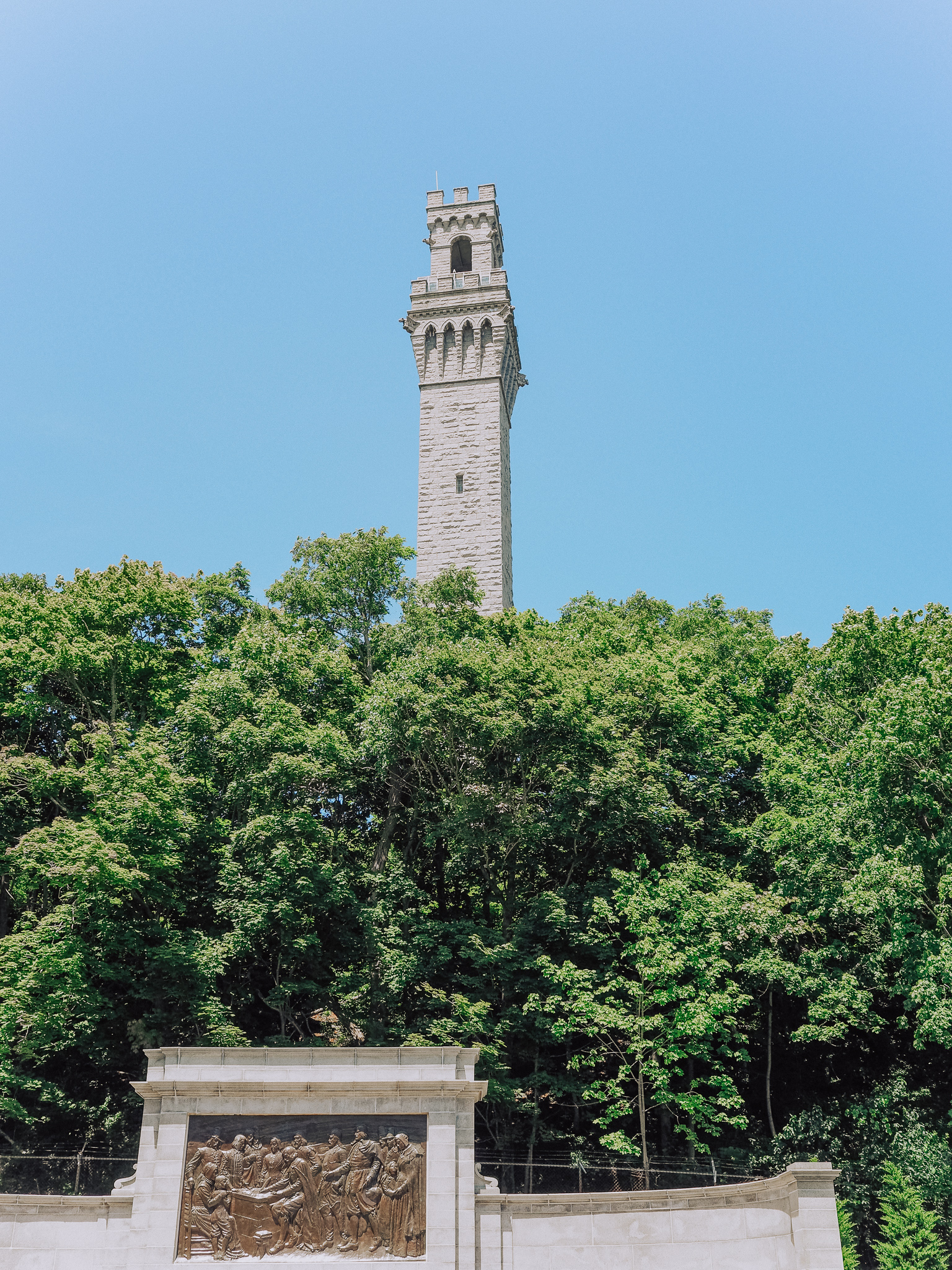 The Pilgrim Monument: Take a look through local history. The Pilgrim Monument founded in 1892 commemorated the Mayflower pilgrims first landing in Provincetown before sailing to Plymouth.