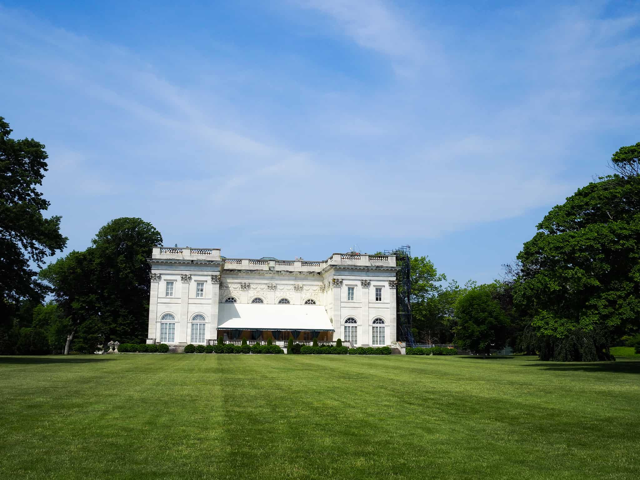 The Marble House mansion in Newport, Rhode Island.