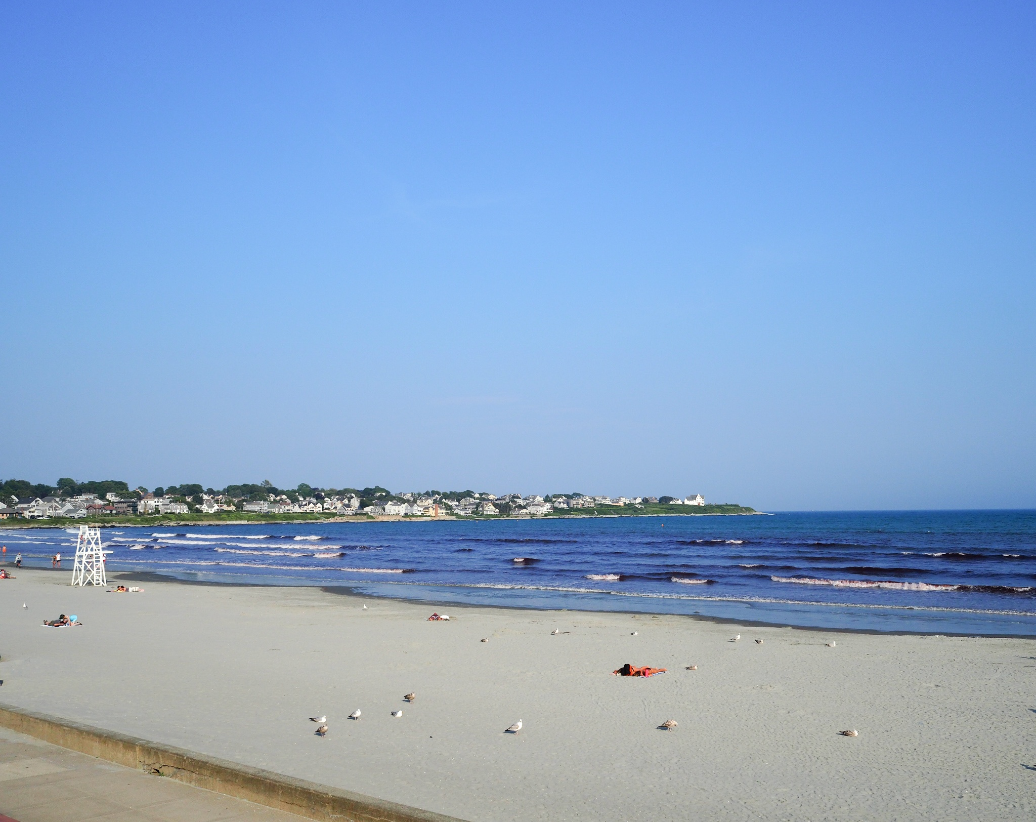 Easton Beach has lots to offer during the summer some of the many activities to enjoy while having a beach day is the 1950's carousel, Save the Bay Aquarium ($9 general admission), surfing, and Easton Beach Snack Bar.