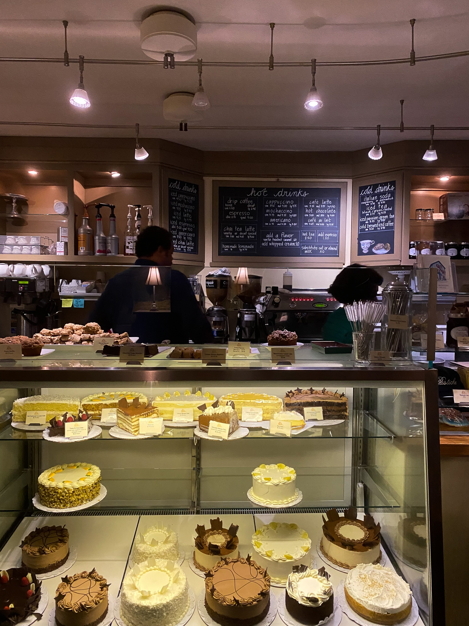 Pastiche: A very cozy coffee and pastry shop on  Federal Hill in Providence, RI.