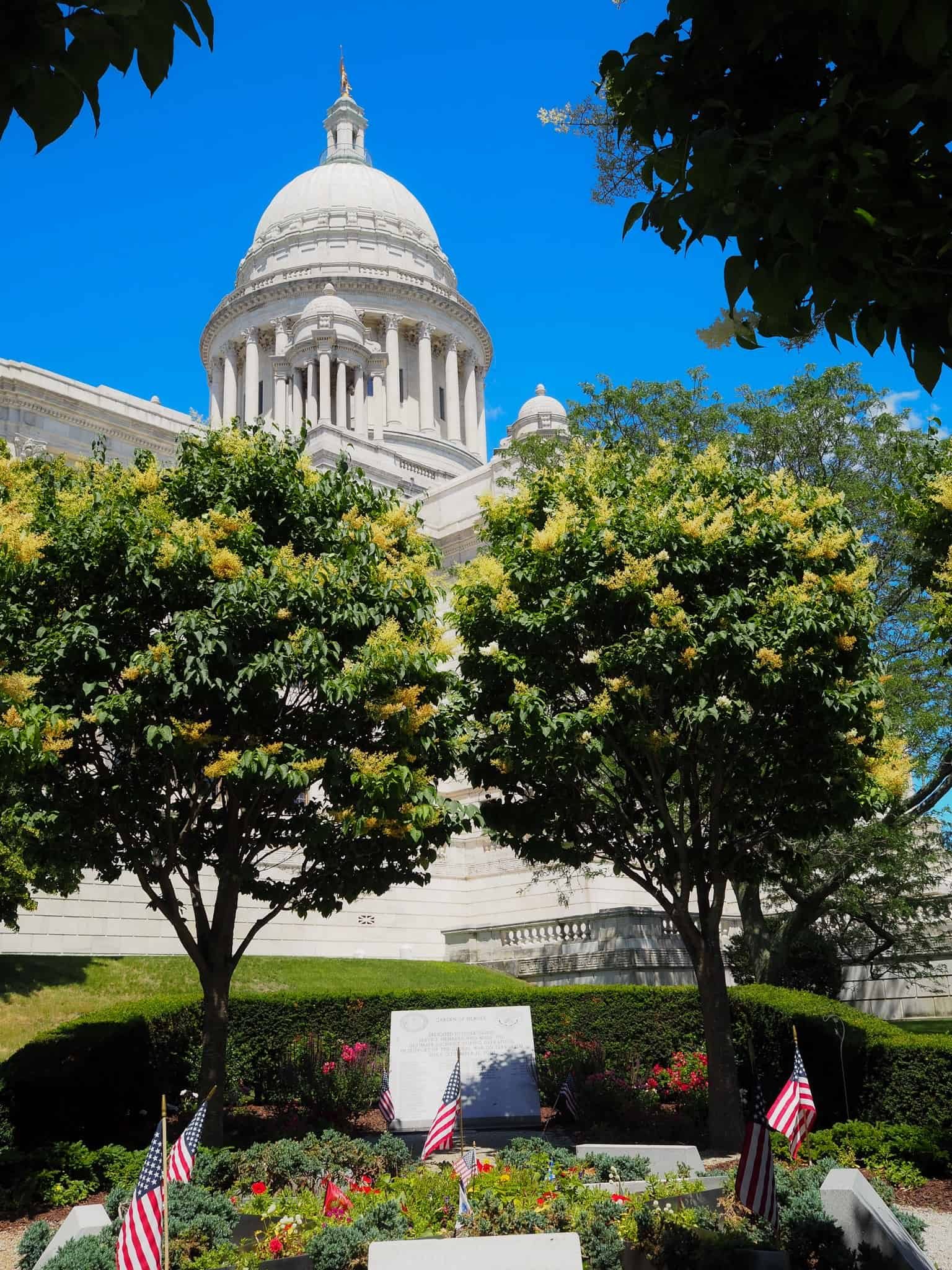 Rhode Island's State Capital in Providence