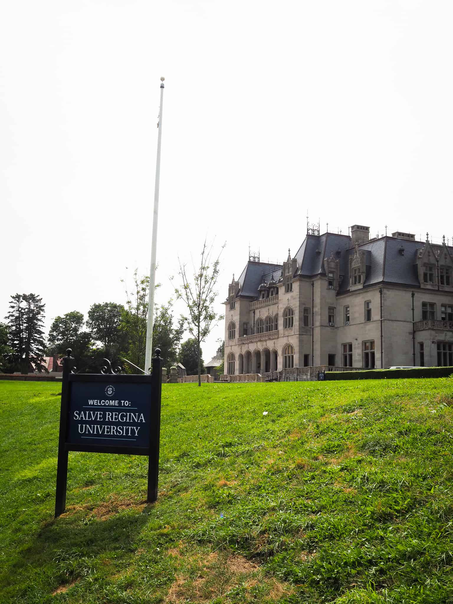"""Salve Regina University: Salve Regina University is a private university in Newport, Rhode Island founded in 1934 by the Sisters of Mercy. The university is accredited by the New England Commission of Higher Education. Movies that have also been filmed on this campus include """"True Lies"""" and """"Irriational Man""""."""